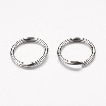 10mm Gunmetal Jump Rings 25/pk
