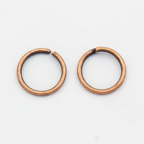 10MM ANTIQUE COPPER JUMP RINGS 25/PK - i-Bead,  ANTIQUE COPPER