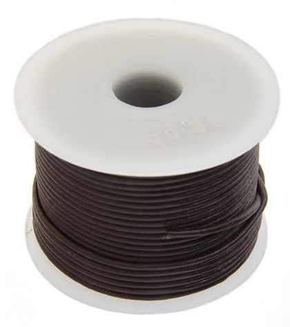 1.5mm Brown Leather Cord 25m - i-Bead,  BROWN