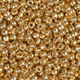 11/0 JAPANESE SEEDBEADS DURACOAT GALVANIZED GOLD 22G - i-Bead,  JAPANESE SEEDBEAD