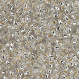 11/0 Czech Seed Beads Silver Lined Crystal 250g - i-Bead,  CRYSTAL