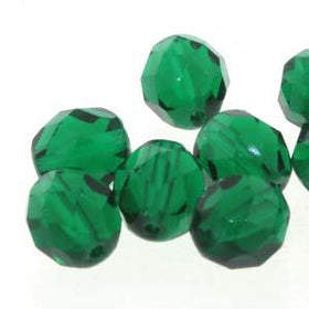 4MM CHRYSOLITE FIREPOLISHED FACETTED BEADS 38/STRAND