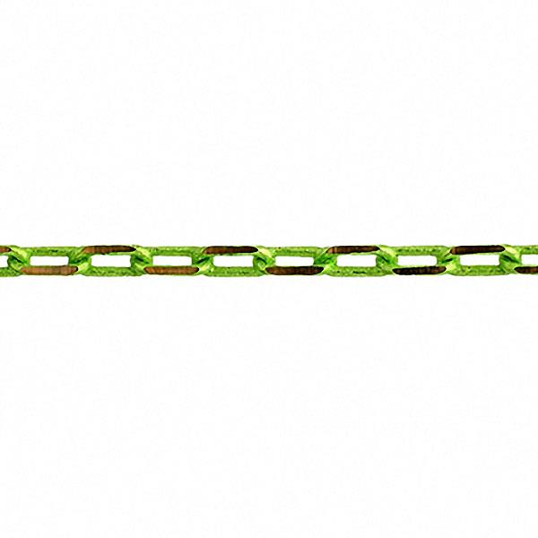 Chain Cut Link 3x5mm Links Lime Green 2m
