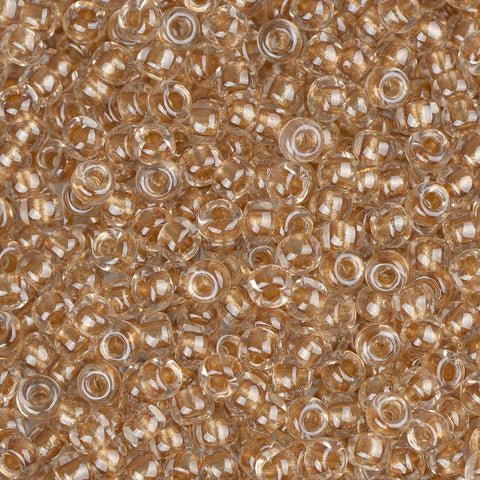 11/0 Japanese Seed Beads Gold Lined Sparkled Metallic 22g