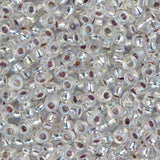 11/0 JAPANESE SEEDBEADS SILVER LINED CRYSTAL AB 22G - i-Bead,  JAPANESE SEEDBEAD