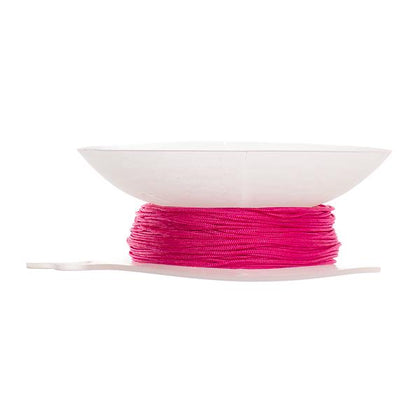 Strawberry Pink 1mm Knotting Cord 50yds