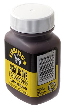 Fiebing's Acrylic Dye 2oz Dark Brown