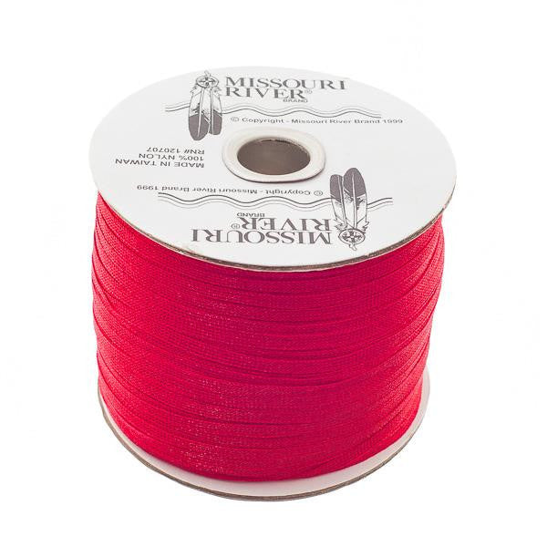Flat Red Shawl Fringe 244yd Spool