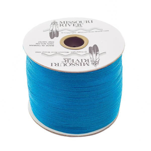Flat Pacific Blue Shawl Fringe 244yd Spool