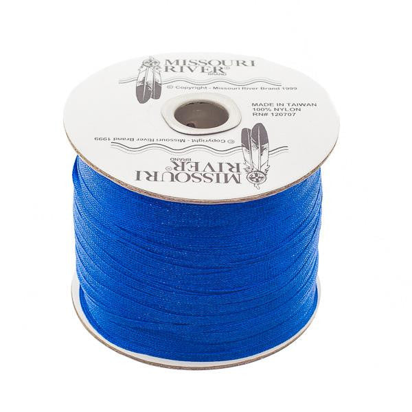 Flat Royal Blue Shawl Fringe 244yd Spool