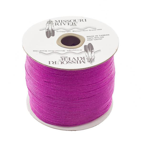 Flat Purple Shawl Fringe 244yd Spool