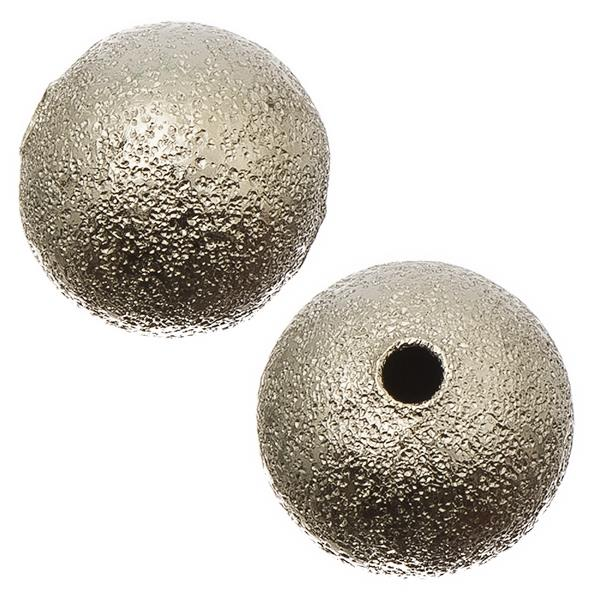 Nickel Stardust 4mm Metal Bead 100/pk
