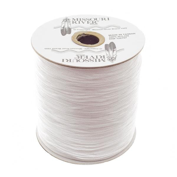 Round White Shawl Fringe 1800ft Spool