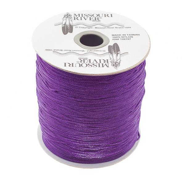 Round Haskell Purple Shawl Fringe 1800ft Spool