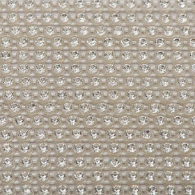 Plastic 2.4mm Clear Rhinestone Banding by the Yard