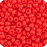 11/0 Czech Seed Beads Opaque Light Red 250g - i-Bead,  LIGHT RED