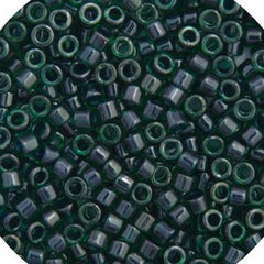 11/0 Japanese Delica Beads Green Teal Lined 5.2g