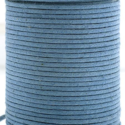 1mm Denim Waxed Cotton Cord 25m/spool