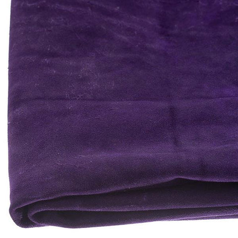Cowhide Suede by the Square Foot - Purple