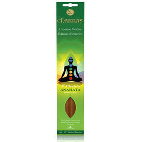 Anahata Chakra Incense - 20 Sticks/pk
