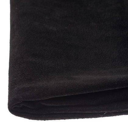 Black Pigskin Suede by the Square Foot