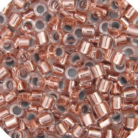 11/0 Japanese Delica Beads Copper Lined Crystal 5.2g - i-Bead,  MIYUKI BEADS
