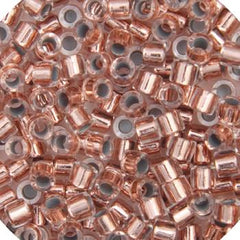 11/0 Japanese Delica Beads Copper Lined Crystal 5.2g
