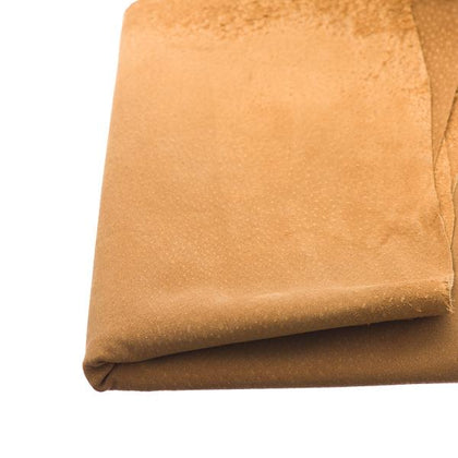 Tobacco Pigskin Suede by the Square Foot