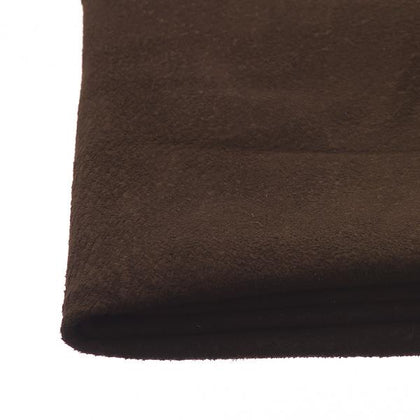 Dark Brown Pigskin Suede by the Square Foot