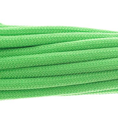 4mm Neon Green Parachute Cord 16ft