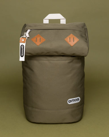 "Canyon Rucksack in Kalamata - This rucksack is designed for men & women and is perfect for being on the go. The dimensions are  Height: 17.3"" - Width: 10.8"" - Depth: 6.1""."