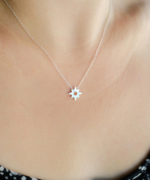 Star Necklace On