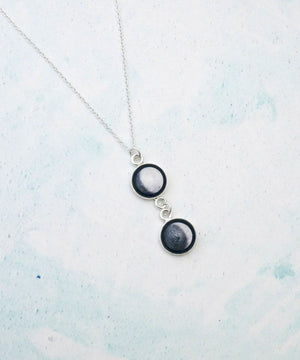 Personalised Soulmate Moon Phase Necklace