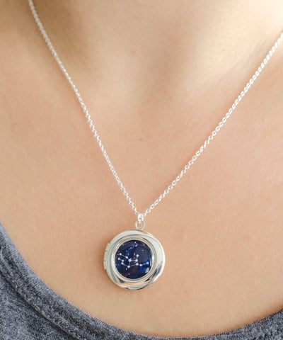Personalised Zodiac Locket