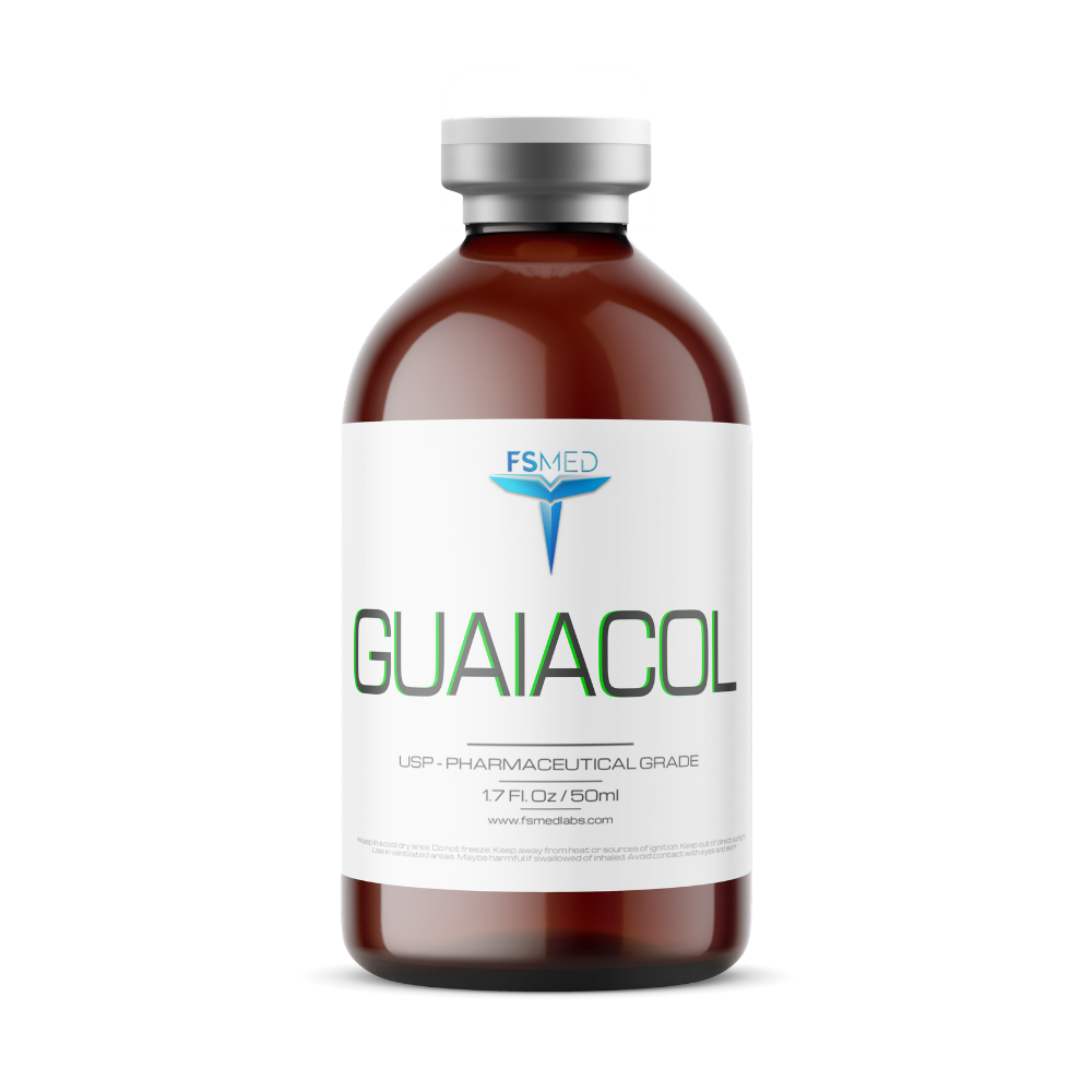 Guaiacol: Purified, GRAS Certified, 50ml