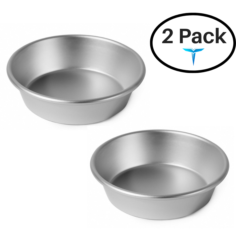 "Baking Pan - 4"" Mini Round - Silver"