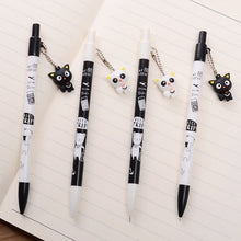 Load image into Gallery viewer, UwU Kitty Kat Lead Pencils w/ Kat keychain