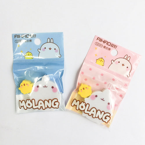 UwU Molang Rabbit & Duck Eraser