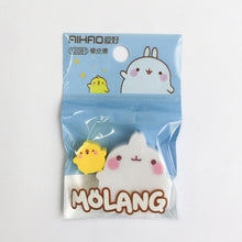 Load image into Gallery viewer, UwU Molang Rabbit & Duck Eraser