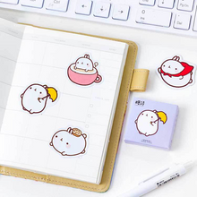 Load image into Gallery viewer, UwU Journal the Bunny 45pc sticker pack