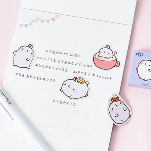 UwU Journal the Bunny 45pc sticker pack