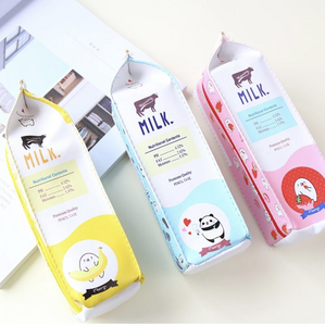 UwU Animal Milk Box Pencil Case