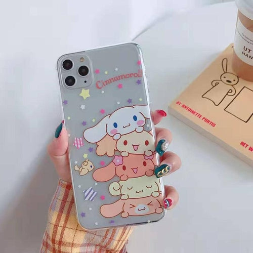 UwU Cinnaroll stack iPhone Case