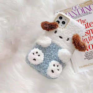 Fluffy Doggi iPhone Case