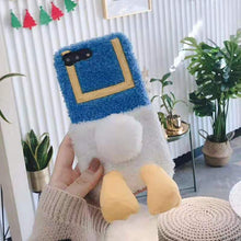 Load image into Gallery viewer, UwU Fluffy Ducky iPhone Case
