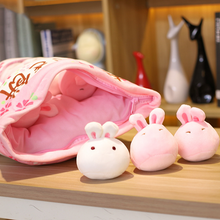 Load image into Gallery viewer, UwU Sakura Bunny Bag Plush