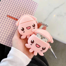Load image into Gallery viewer, UwU Desu Squid Airpod Case