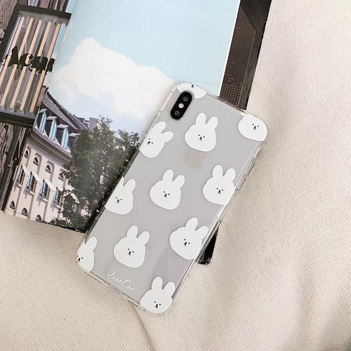 UwU Bunny iPhone Case (๑චᆽච๑)