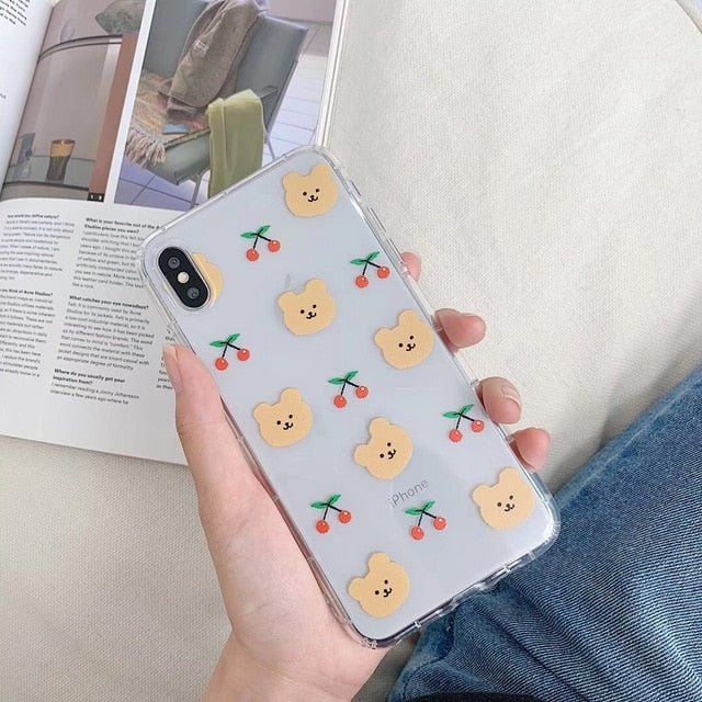 UwU Bear iphone Case /ʕ •ᴥ•ʔ/