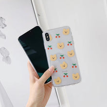 Load image into Gallery viewer, UwU Bear iphone Case /ʕ •ᴥ•ʔ/